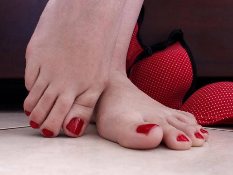fetiches comuns - pés